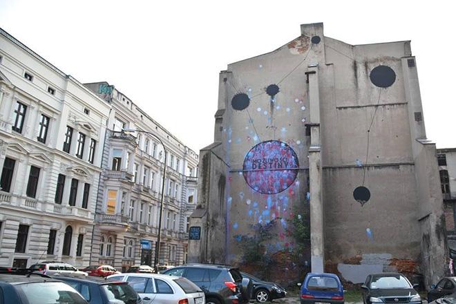 Opiemme - Taurus, murale, Lodz (Polonia), 2016. photo by: Paweł Trzeźwiński