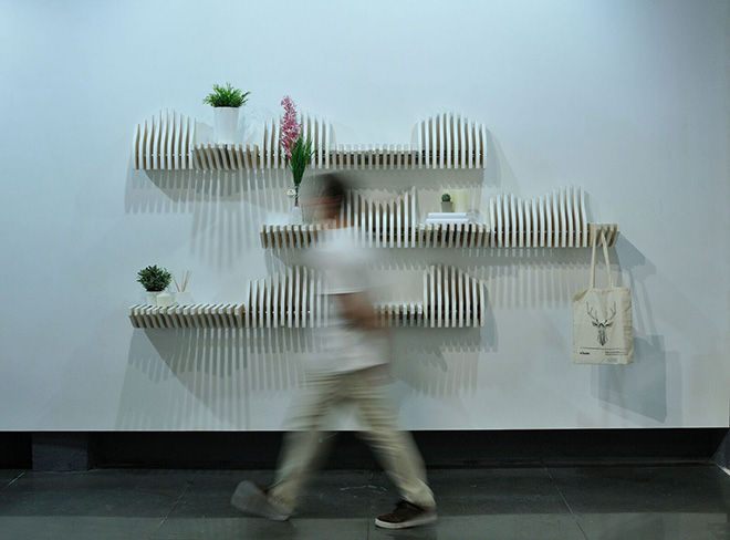 Köllen Bookshelf - Libreria modulare interattiva
