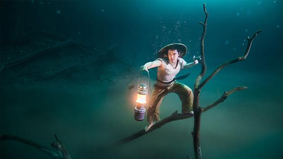 Benjamin Von Wong - Underwater River