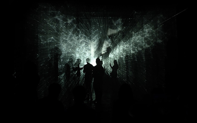 VOID - Interactive Art Installation by Sergio Mora-Diaz, Oryan Inbar e Jordan Backhus