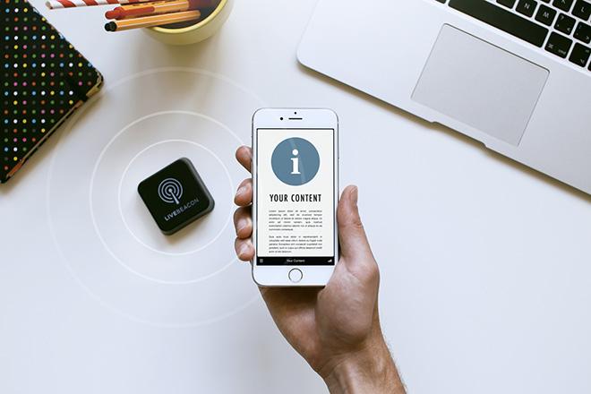 Live Beacon – Collegare contenuti digitali con il mondo fisico