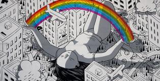 Millo - Blind, Bonito, murale per Impronte Art Festival 2016