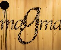 Opiemme - Magma, 2016, pitture acriliche su tavola, 136 x 96,5 cm. photo credit: ©Opiemme