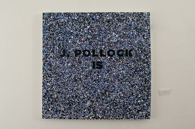 Opiemme - J. Pollock is (parola nascosta), 2013. photo credit: Michela Bettuzzi