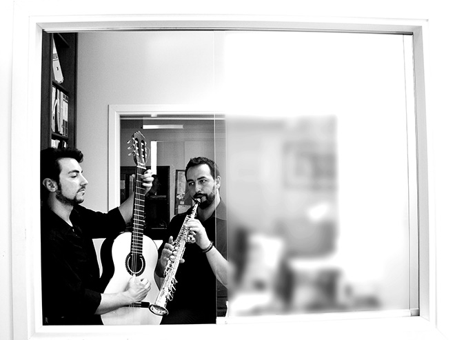 Alessandro Blanco, Nicola Mogavero - Heptachord. photo credit: Francesca Cicala