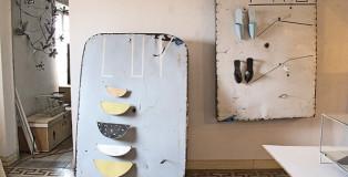 Francesco Bocchini studio - photo credit: Luigi Bussolati