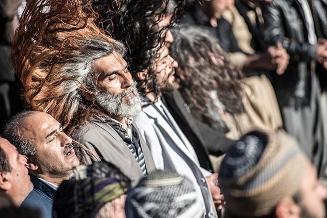 Christopher Roche - Kurdistan, The dervishes dance