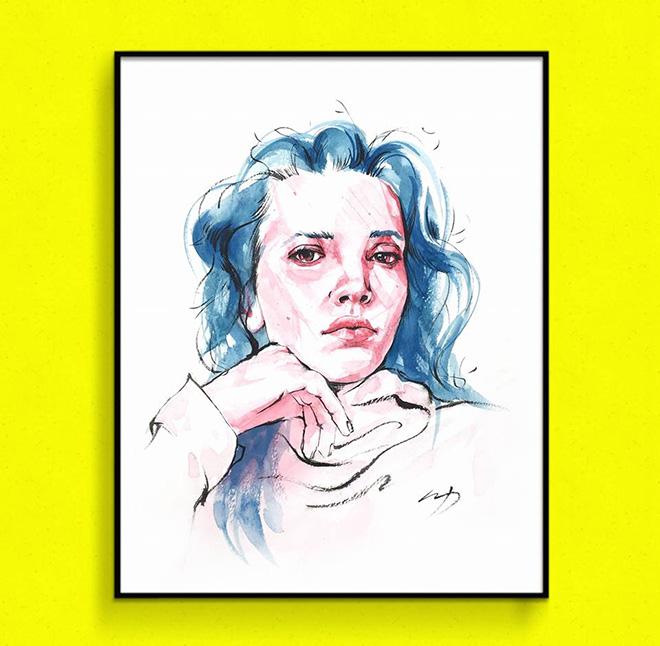 Seo young-seok - Illustration for Korean Art Fair