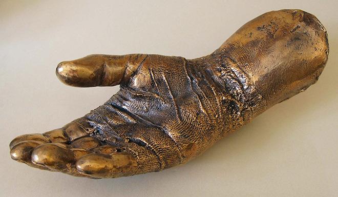 Lello Torchia - Senza titolo, 2014, lost wax bronze casting life-size