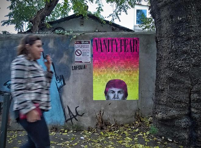 UNO – Vanity Fear, Trump-L'oeil
