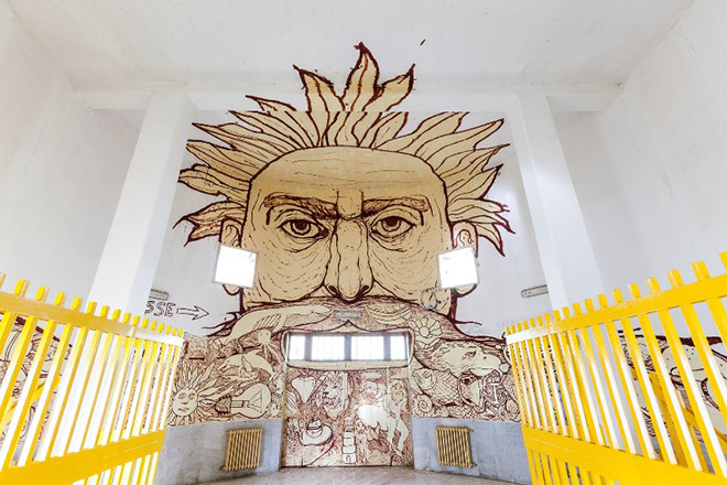 Non me la racconti giusta – Arte pubblica in carcere