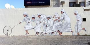 Ernest Zacharevic - Dubai Street Museum project