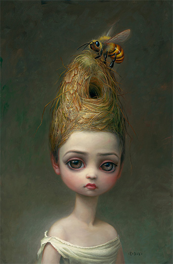 Mark Ryden - Queen Bee (#105), 2013, oil on canvas