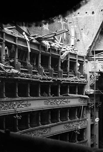 La Scala - I palchi, 1943, Cittadella degli Archivi e Archivio Civico di Milano