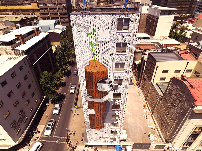 Millo – Never give up, Santiago del Cile