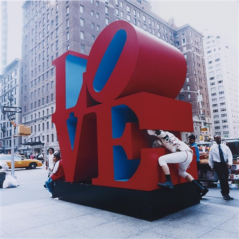 Bruce High Quality Foundation - Public Sculpture Tackle (Love)