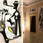 Canemorto e Carlo Zinelli – Carlo giallo su sfondo di tre cani
