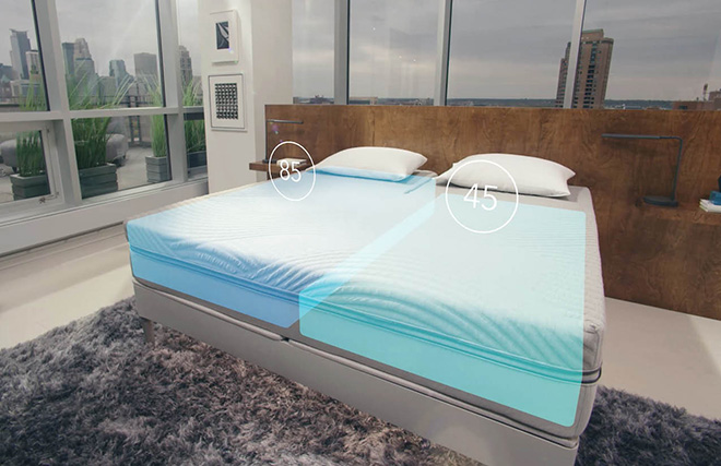 Sleep Number 360 - Smart Bed, dual adjustability