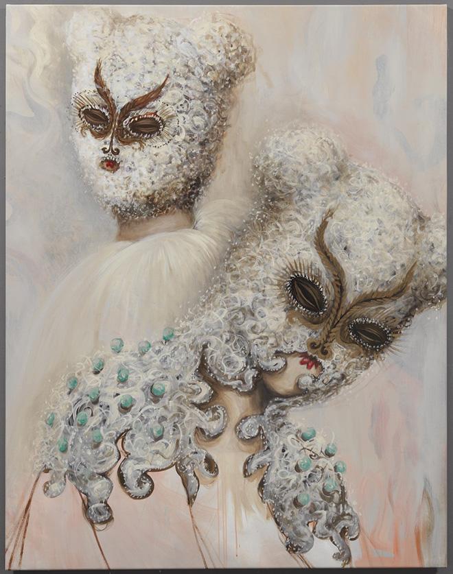 Miss Van - Softness, 2016 Acrylic on canvas 150x114 cm