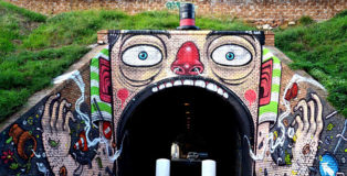 Mr. THOMS - Il risucchiattore, tunnel del Quadraro, Roma