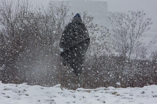 Antonio Gibotta -  Serbia, Belgrado, Oltre 1000 migranti nel gelo di Belgrado