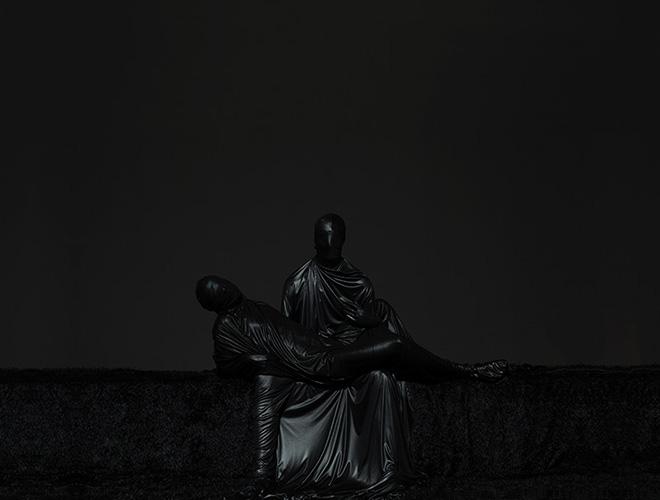 ©mustafa sabbagh - onore al nero, untitled, 2014, fine art print on dibond, cm 150x200 ed. of 5 + 1 PA