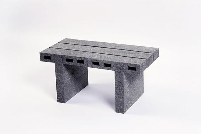 Woojai Lee - PaperBricks coffetable