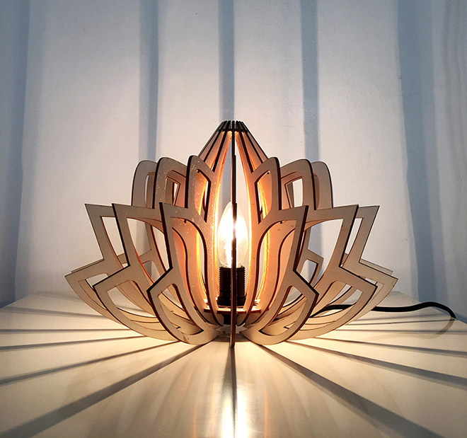 Lotus Lamps - Design by Brain edition