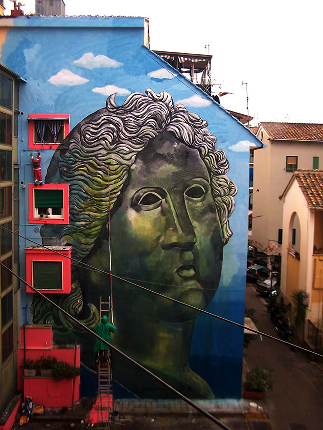 Carlos Atoche - Apollo ritrovato, Salerno