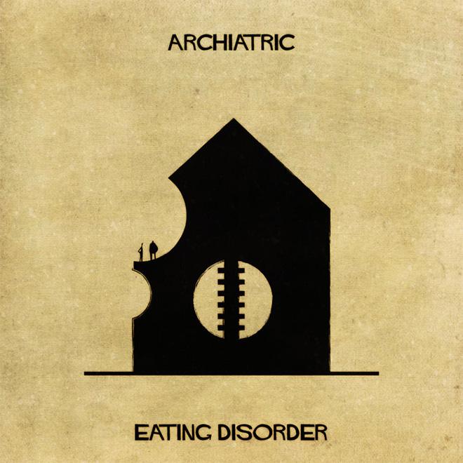 Federico Babina - Archiatric, Eating disorder