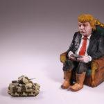 Isaac Cordal – Giza Komedia