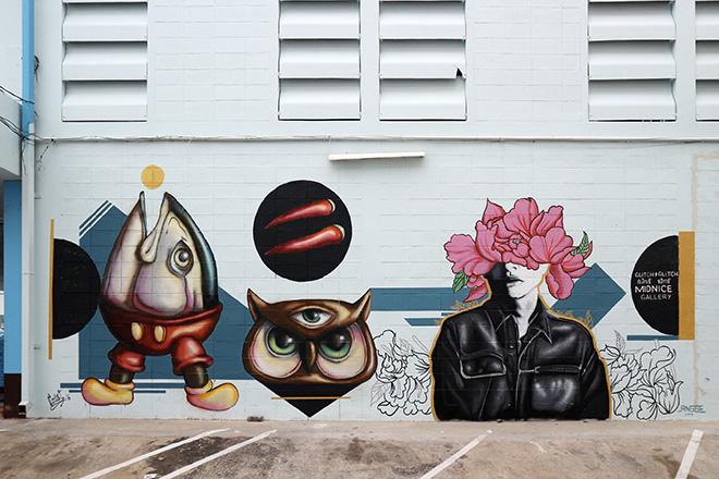 Glitch Glitch - Wall art, Bangkok, Thailandia