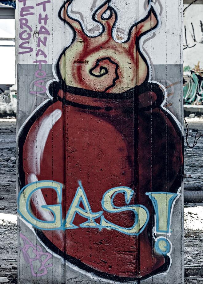 Opera di Gas, Officine Meccaniche Reggiane - Fotografia di Carlo Vannini