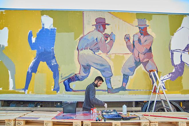 Aryz - Truck art project