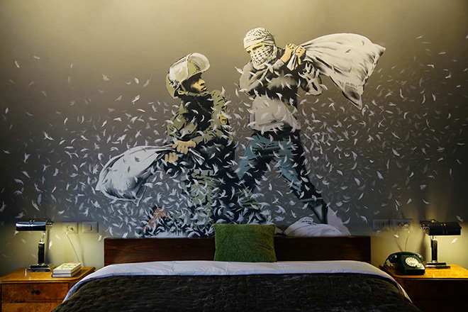 Banksy – The Walled of Hotel