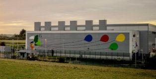 Fuchsia MacAree - Dublin Google Data Center, Data Center Mural project