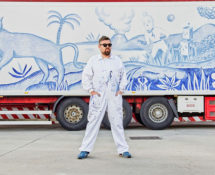 Sergio Mora - Truck art project