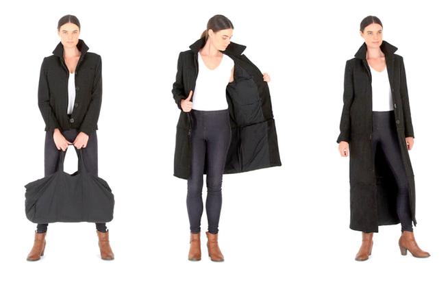 The Airport Jacket – La valigia indossabile