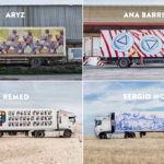 Truck art project – Aryz, Ana Barriga, Remed, Sergio Mora