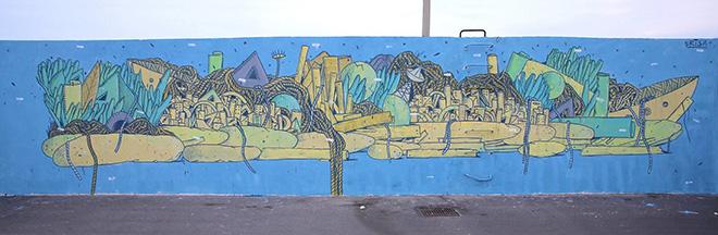Federico Crisa - Vedo a colori, Street Art nel porto di Civitanova Marche
