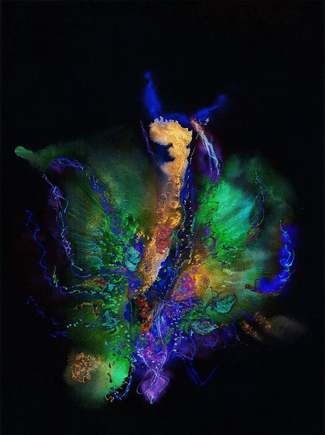 Marialuisa Tadei - Farfalla, 2011, c-print, diasec montata sotto plexiglass, cm 180x134. © Marialuisa Tadei