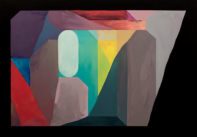 Nelio - Prelude, 2017, 116x81 cm