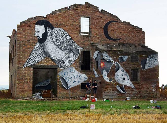 Andrea Casciu - Street art