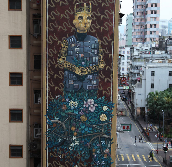 Pixel Pancho - HKwalls, Hong Kong, 2017. photo credit: ©Jaime Rojo