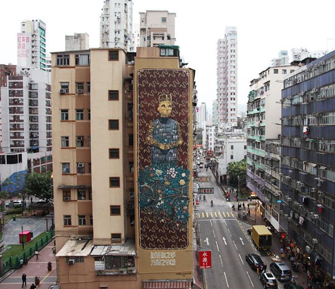 HKwalls – Arte urbana a Hong Kong