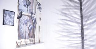 Chiara Dellerba - Exhibiton detail, Project room, Surface gallery, Nottingham, 2014