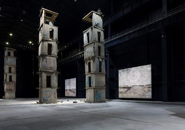 Anselm Kiefer - I Sette Palazzi Celesti, 2004-2015, installazione Pirelli Hangar-Bicocca