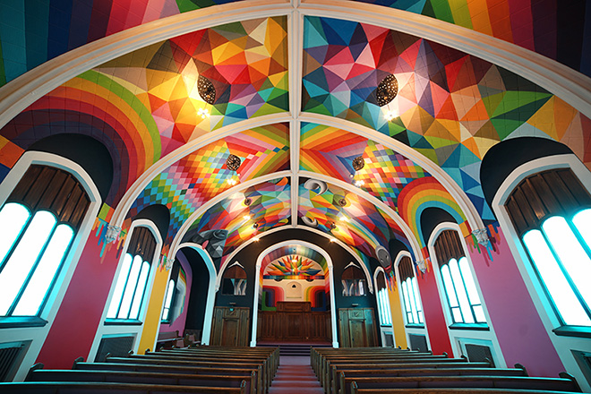 Okuda San Miguel - The International Church of Cannabis, Denver