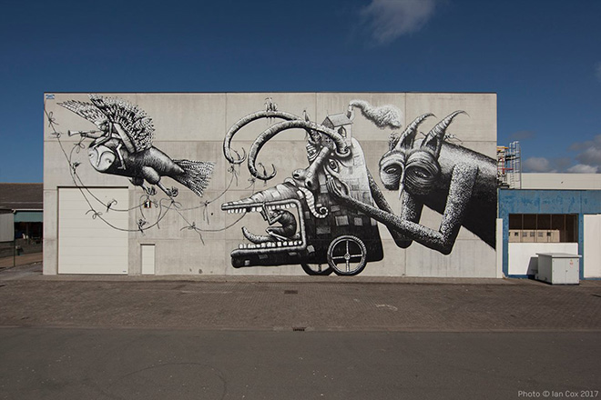 Phlegm - The Crystal Ship 2017, Ostenda. photo credit: Ian Cox