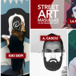 Street art Masullas – Tellas, La Fille Bertha, Andrea Casciu, Kiki Skipi e Hitnes